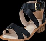Clarks - Sandcastle Ray Black Leather