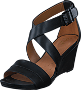 Clarks - Acina Newport Black Leather