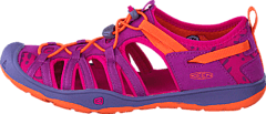 Keen - Moxie Sandal Youth Purple Wine/Nasturtium