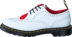 Dr Martens - Joyce Heart White/Red