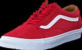 Vans - UA Old Skool racing red/true white