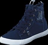 Odd Molly - Butterfly High Sneakers Dark Blue