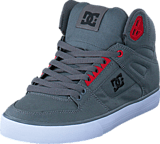 DC Shoes - Spartan High Tx Grey/Black/Red