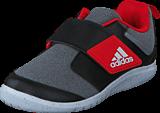 adidas Originals - Fortaplay Ac I Medium Grey Heather/Core Black