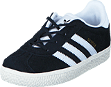 adidas Originals - Gazelle I Core Black/Ftwr White/Gold Met