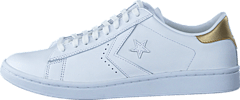 Converse - Pro Leather LP Ox White/Light Gold