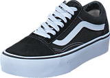 Vans - UA Old Skool Platform Black/White