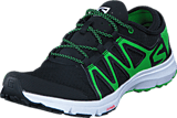 Salomon - CROSSAMPHIBIAN SWIFT Black/Black/Green