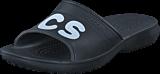Crocs - Classic Graphic Slide Black/White