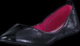 Damn Heels - Foldable Ballerina Gunmetal Glitz