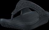 Crocs - Crocs Sloane Embellished Flip Black/Black