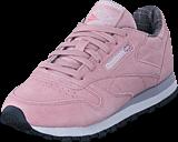 Reebok Classic - Cl Lthr W&W Shell Pink/Whisper Grey/Lilac/