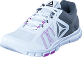 Reebok - Yourflex Trainette 9.0 Mt White/Alloy/Vicious Violet