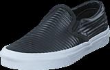 Vans - UA Classic Slip-On (Moto Leather) Black/White