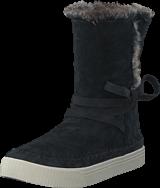 Toms - Vista Black/Waterproof/Faux Fur