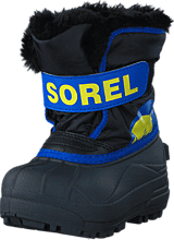 Sorel - Snow Commander Toddler 011 Black, Super Blue