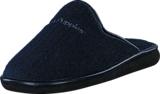Hush Puppies - Felt Slipper 4957 Navy