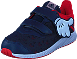 adidas Sport Performance - Dy Mickey Fortarun Cf I Scarlet/Vivid Red/Ftwr White