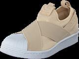 adidas Originals - Superstar Slipon W Linen S17/Linen S17/Ftwr White