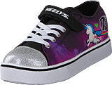 Heelys - Heelys Snazzy Lo Top White/purple/neon Multi