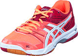 Asics - Gel-rocket 7 Flash Coral/white/cerise