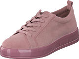 Bianco - Laced Up Suede Sneaker Light Pink