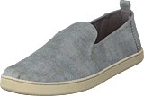 Toms - Deconstructed Alpargata Drizzle Grey Washed Twill