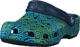 Crocs - Classic Graphic Clog K Navy