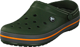 Crocs - Crocband Forest Green/slate Grey