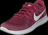 Nike - Wmns Nike Free Rn 2017 Wine/white-rose-pulse-red
