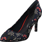 Rockport - Tm75mmpth Plain Pump Navy Floral Textile