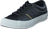 Converse - One Star Black/gold/egret