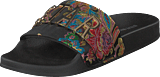 Steve Madden - Word Slipper Black/floral