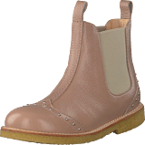 Angulus - Chelsea Boot With Studs Dusty Make Up / Beige